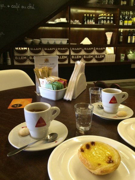 Portuguese and Brazilian cuisine mash-up: a pastel de nata...