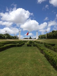 The Eduardo VII Park, a 26 hectare garden in the city centre