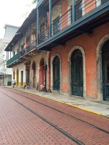 'Casco Viejo' has many French inspired buildings