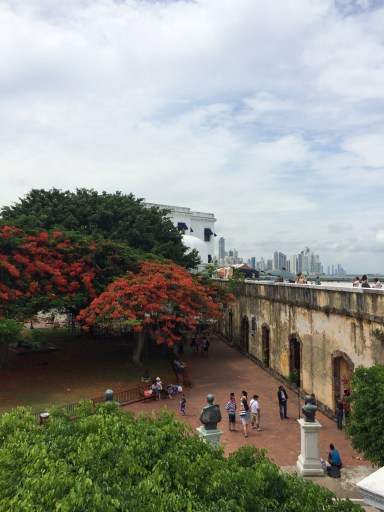 The French Park in 'Casco Viejo'