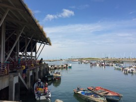 On the way from 'Casco Viejo' to Balboa Avenue you'll go through a cool fish market