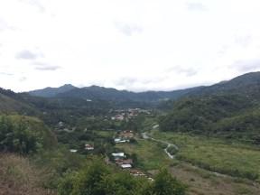 Boquete is a tiny town near 'Volcan Barú'