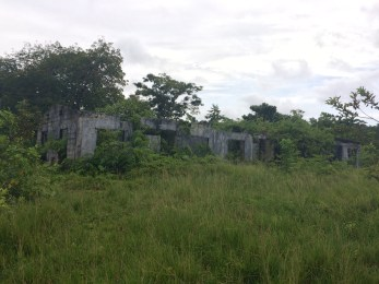 These ruins were once one of the houses of the former dictator Manuel Noriega. You can't see it in the picture, but it had an amazing view of the sea!
