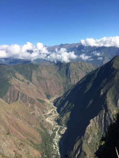 All heads are turned to the Machu Picchu site, but the 'Montaña' backyard is pretty amazing too