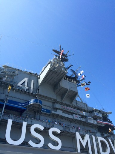 The USS Midway is named after the 1942 Battle of Midway