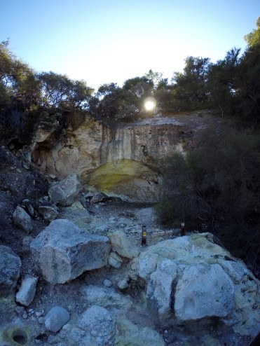 The Sulphur Cave