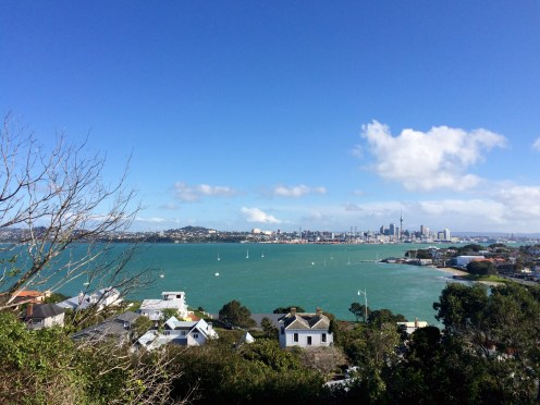 Devonport sits a short ferry ride from Auckland's city center