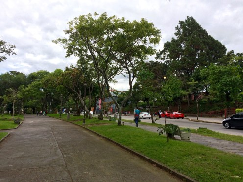 There are several parks within the city, giving it a greener flavour