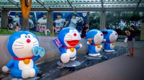 Doraemon is the main character of one of Japan's most popular manga (later adapted to a anime series)