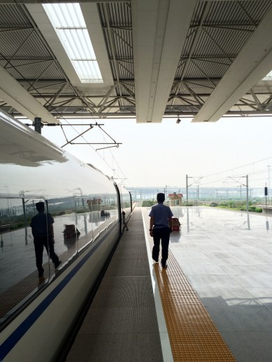 China has a great high-speed train network, which we used to get to Beijing