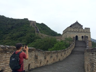The Mutianyu section of the Great Wall has been beautifully restored