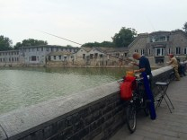 Fishermen outside of the Forbidden City
