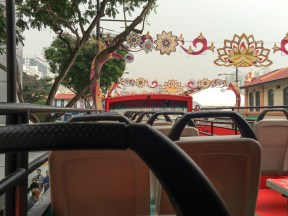 Like in many other cities, we started our Singapore visit with a hop-on hop-off...