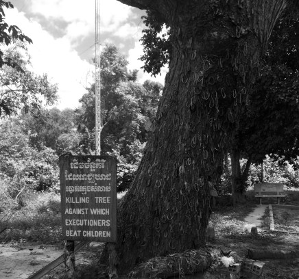 This is a very difficult legend to write. Babies were killed against this tree.