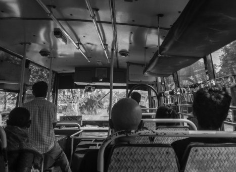 Taking the bus from the north to the south of Goa