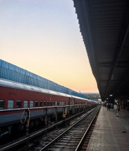 In India we couldn't buy train tickets on short notice for the busiest routes