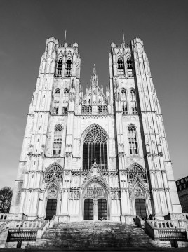 St. Michael and St. Gudula Cathedral, Brussels, Belgium