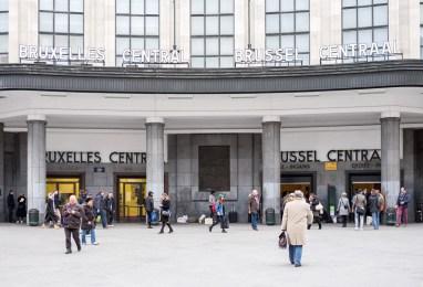 Brussels Central train station (Brussels, Belgium)