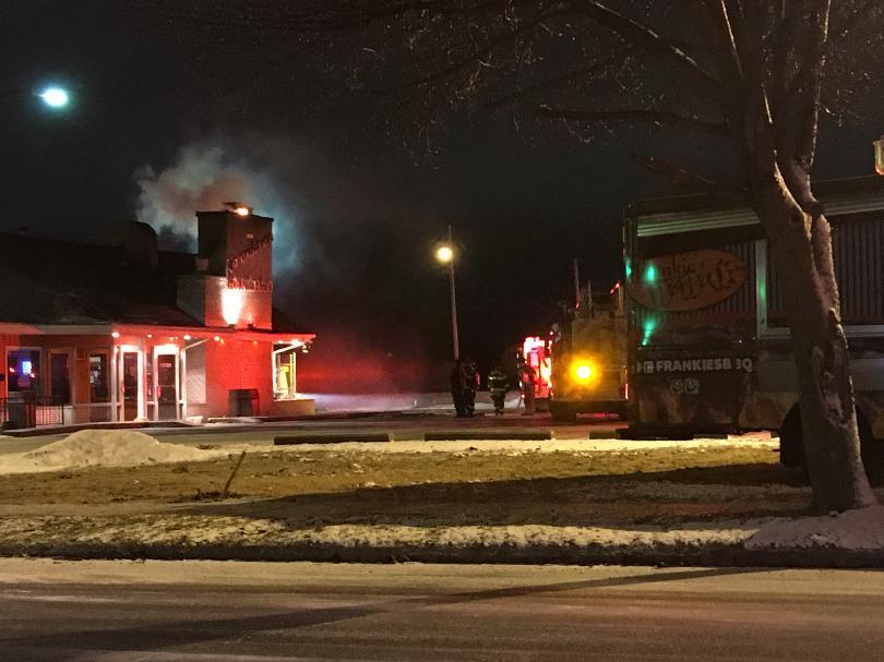 Restaurant fire