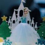 Elsa on cake