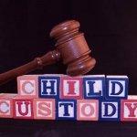 "Blocks reading ""Child Custody"""