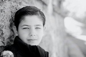 pre-teen boy