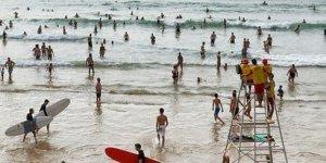Ocean surfers