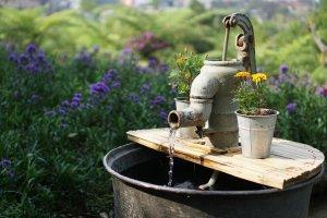 Outdoor water pump