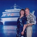 Jule and Jay on cruise
