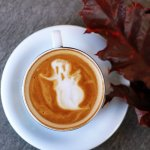 Ghostly hot drink