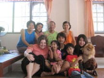 Thai Family Photo