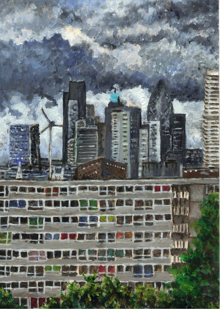 The End of the Heygate by Maria McNicholl, 2011