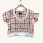 SUSTAINABLE 78% MOHAIR T-SHIRT