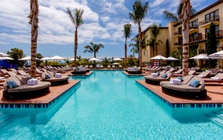 Terrane pool California