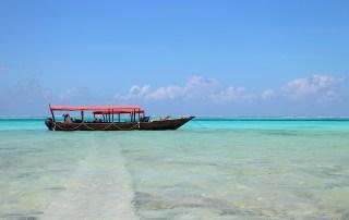traditional boat beaches zanzibar