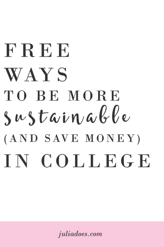 Earth Day Every Day! Tips for College