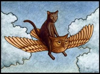 Owl & Pussy9
