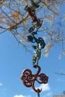 """NZ Sculpture OnShore Nov 2012 (23) """"POLYTIKI'N""""- Toi-Te-Rangiuaia"""