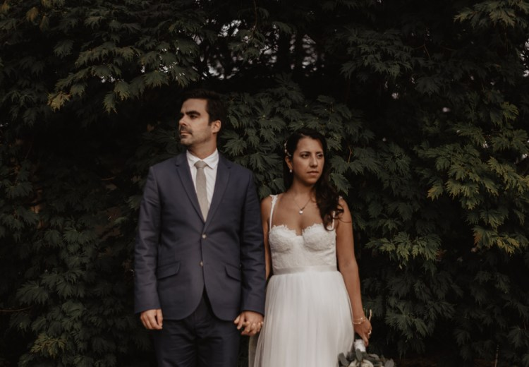 Montreal botanical garden wedding