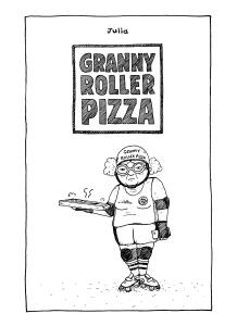 Granny Roller Pizza