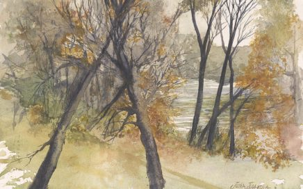 Autumn Morning by the Mississippi Fridley $375