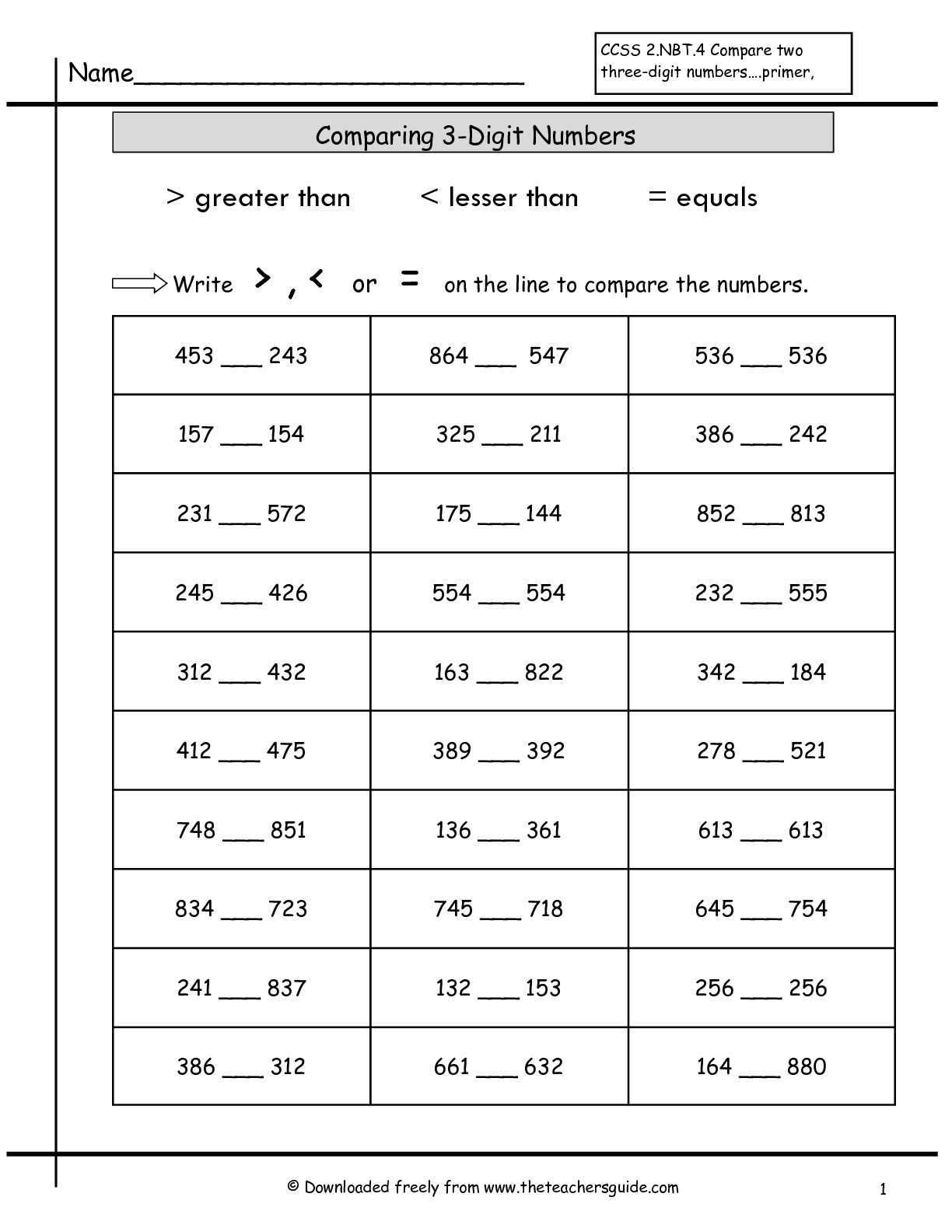 Identifying Rational Numbers Worksheet