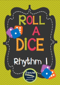 Roll a Dice Rhythm Set 1