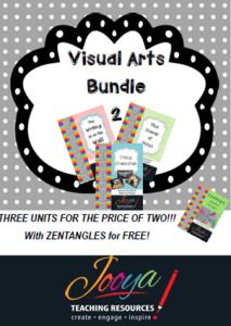 Visual Arts Bundle 2 with Super Six Reading Strategies