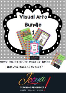 Visual Arts Bundle 1 with Super Six Reading Strategies