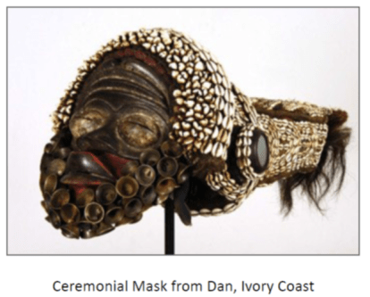 ivory coast mask image