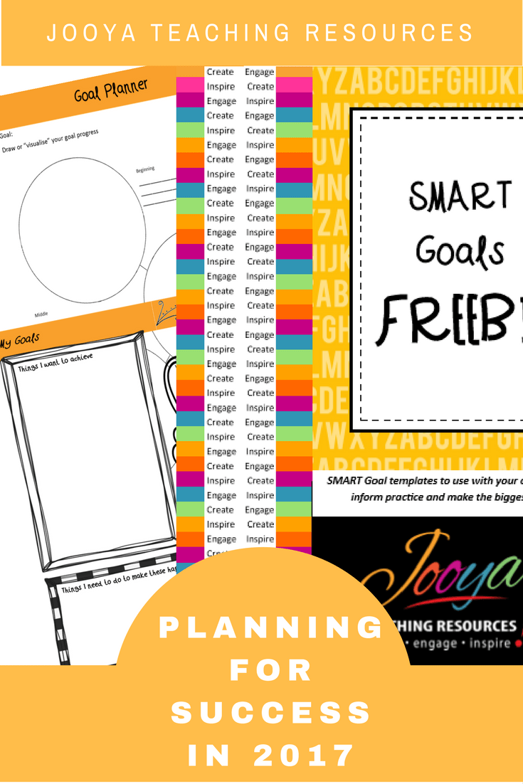 Proven Tips for using SMART Goals Blog Posts by Jooya Teaching Resources. Post includes tips, techniques, templates and link to a FREE course!