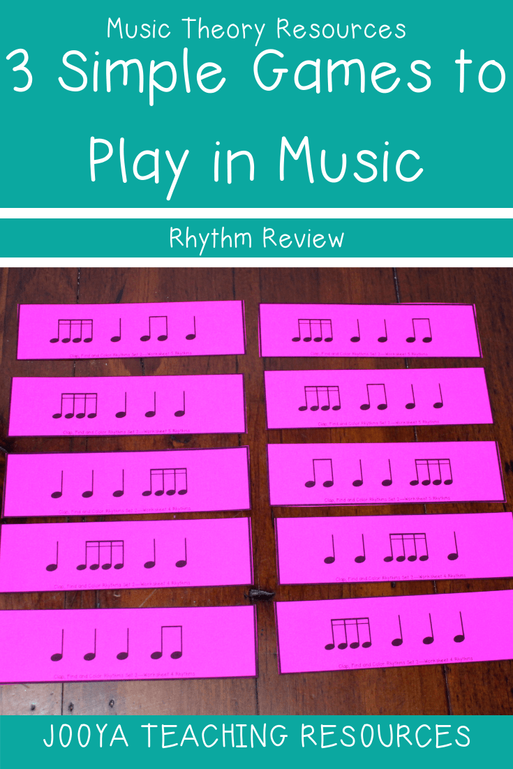 Try the Rhythm Review game with your music classes