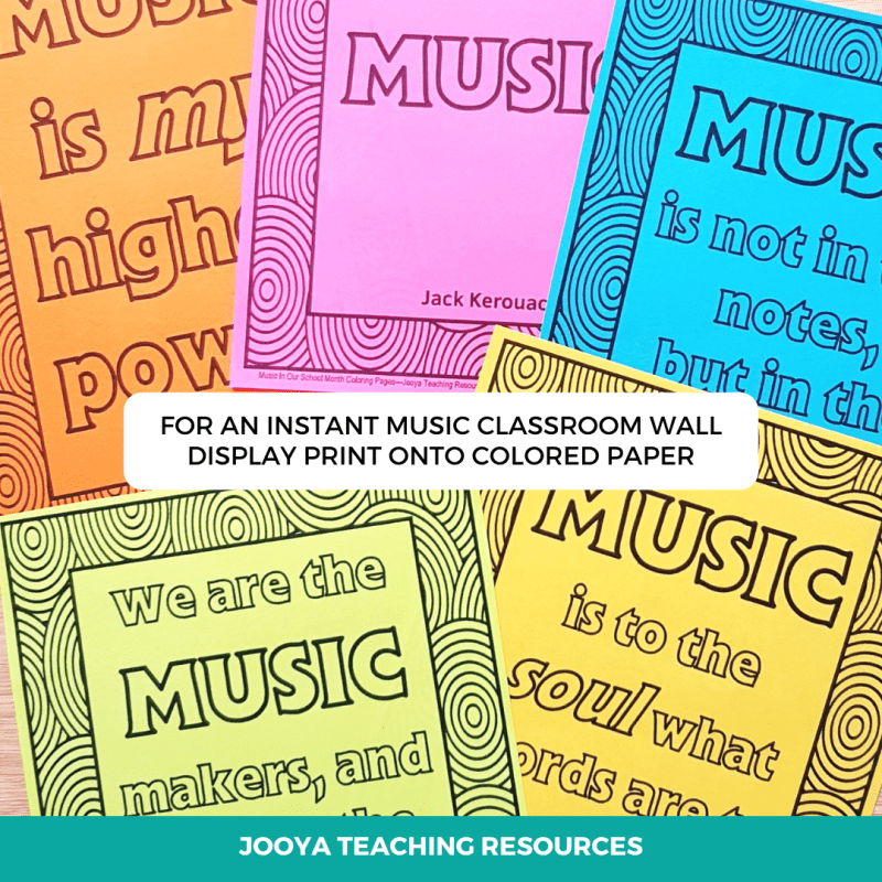 insirational-music-quotes-colored-paper-easy-display-2021