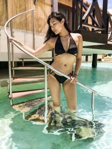 swim bikini julia lee